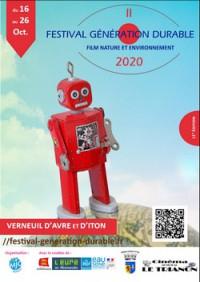 Festival génération durable film nature et environnement 2020